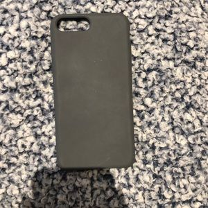 Dark grey phone case